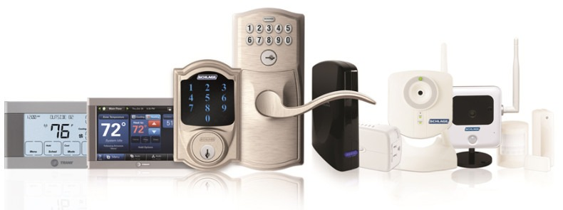 Nexia home security products