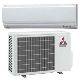 mitsubishi minisplit heating and cooling