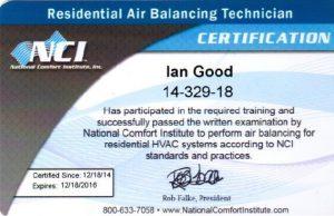 air balancing ian