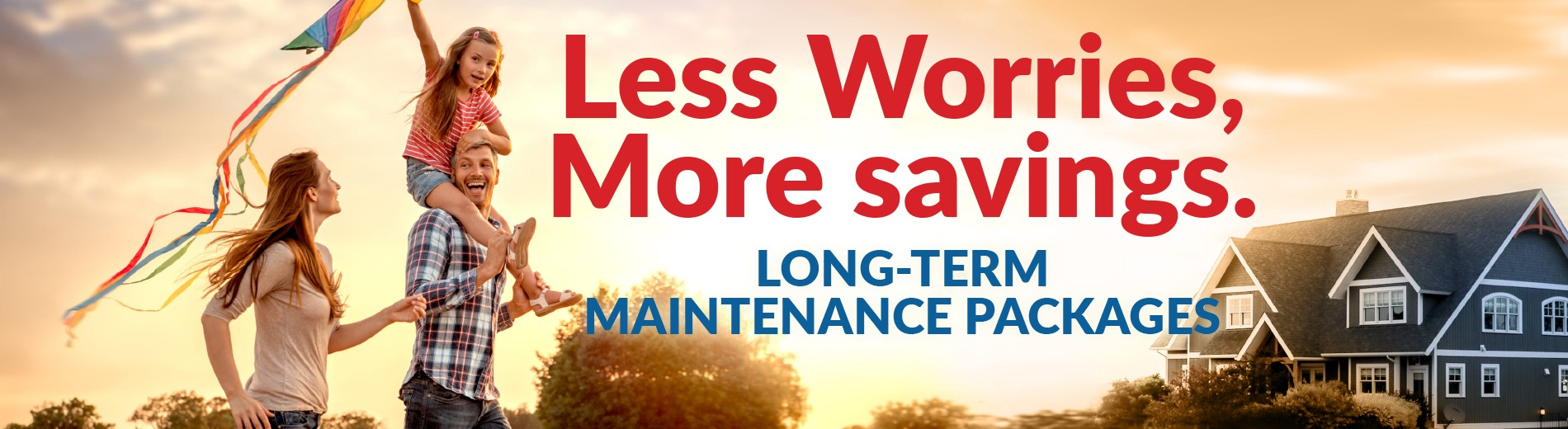 long term maintenance packages