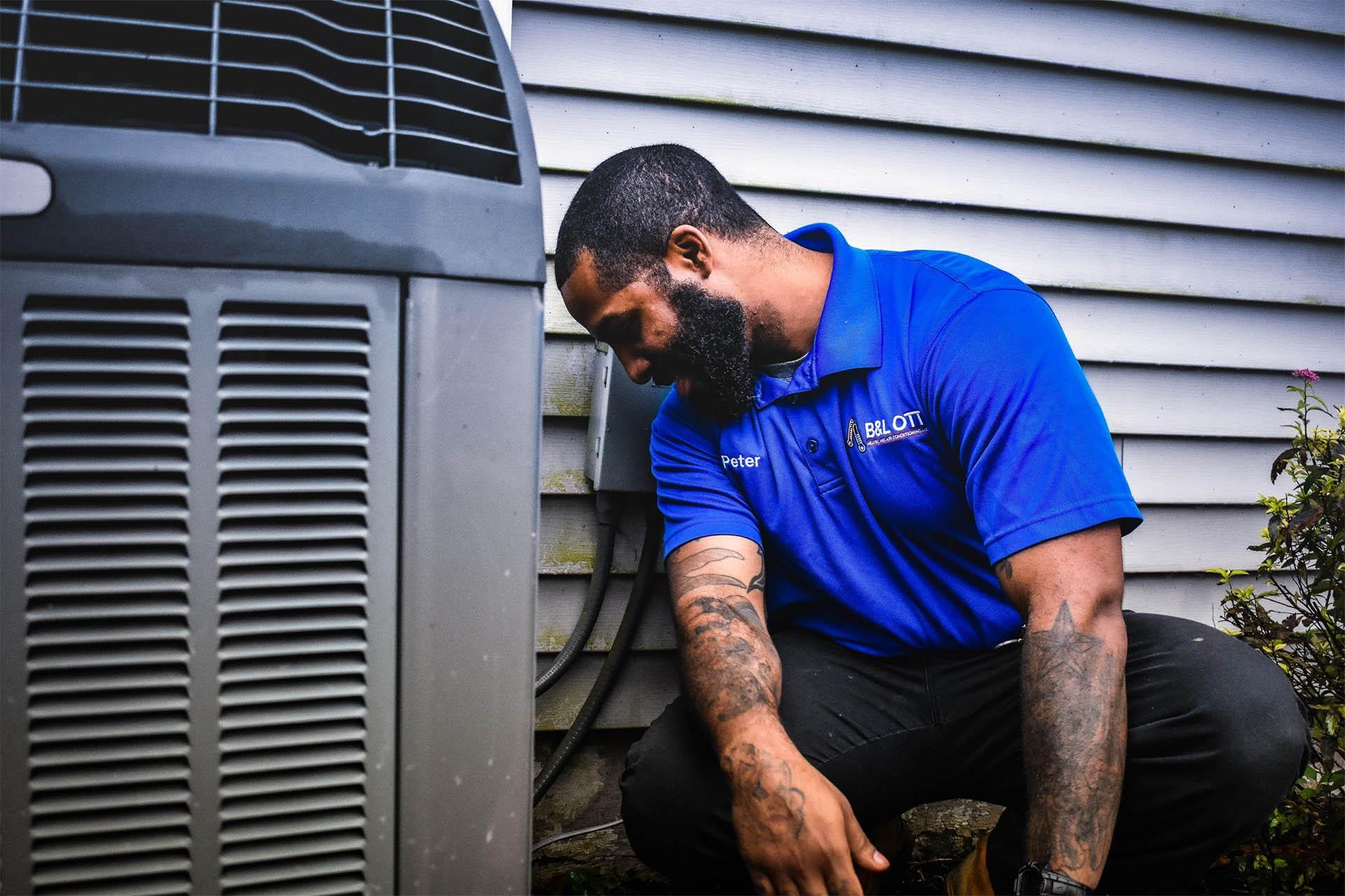 B&L OTT AC Repair Pennsylvania